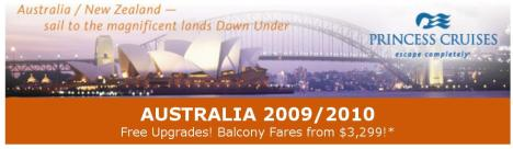 Princess Australia 2009-2010 POST